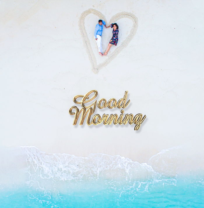 Good morning sweet wife
