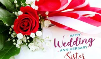 anniversary wishes for sister images
